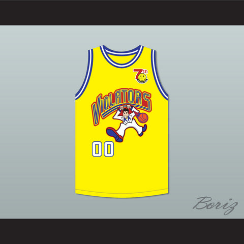 Method Man 00 Violators Basketball Jersey 7th Annual Rock N' Jock B-Ball Jam 1997