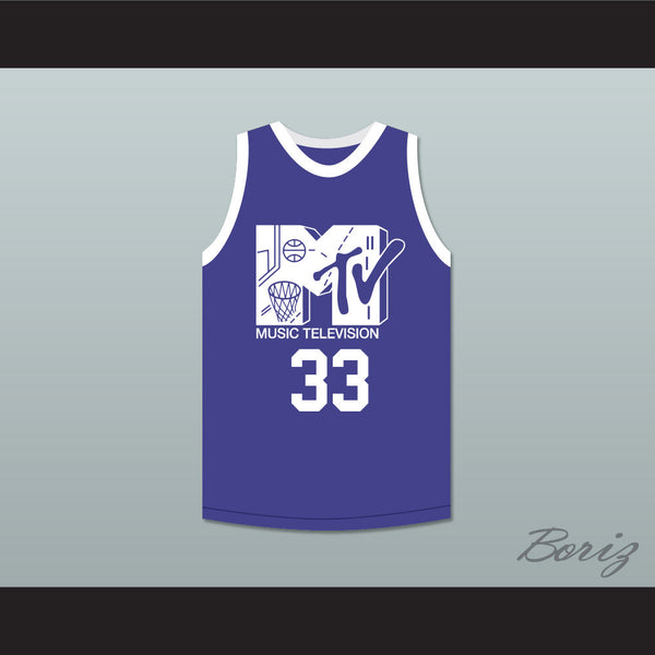 Will Smith 33 Basketball Jersey First Annual Rock N' Jock B-Ball Jam 1991 - borizcustom - 1