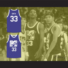 Will Smith 33 Basketball Jersey First Annual Rock N' Jock B-Ball Jam 1991 - borizcustom - 3