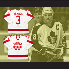 Rob Ramage Team Canada Hockey Jersey - borizcustom - 3