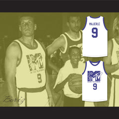 Dan Majerle 9 Basketball Jersey First Annual Rock N' Jock B-Ball Jam 1991 - borizcustom