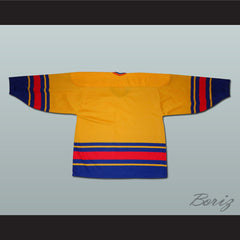 Romania National Team Hockey Jersey Any Player or Number - borizcustom - 2