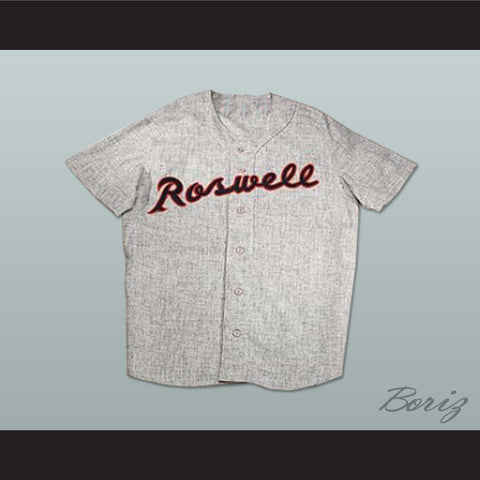 1954 Roswell Rockets Joe Bauman 43 Baseball Jersey Replica Stitch Sewn New - borizcustom