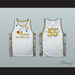 1996 Style Rucker All Stars 55 White Basketball Jersey - borizcustom - 3