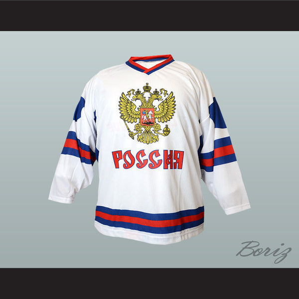 Russia National Team Hockey Jersey New Any Player or Number - borizcustom