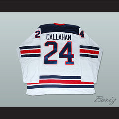 Ryan Callahan 24 USA National Team Hockey Jersey New 1960 Tribute Style - borizcustom - 2