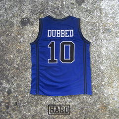 DUBBED 10 SHOT CALLERS BLUE BASKETBALL JERSEY by HARD - borizcustom - 2