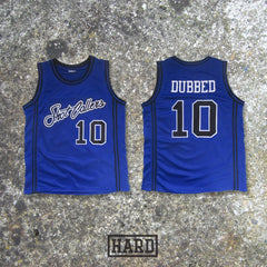 DUBBED 10 SHOT CALLERS BLUE BASKETBALL JERSEY by HARD - borizcustom - 3