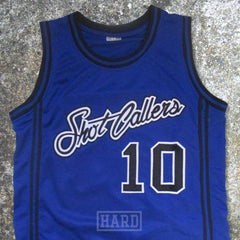 DUBBED 10 SHOT CALLERS BLUE BASKETBALL JERSEY by HARD - borizcustom - 4