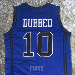 DUBBED 10 SHOT CALLERS BLUE BASKETBALL JERSEY by HARD - borizcustom - 5