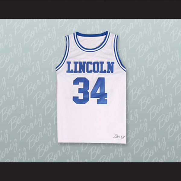 Product Image Jesus Shuttlesworth 34 Lincoln High School Basketball Jersey  He Got Game - borizcustom ... 9703fe703