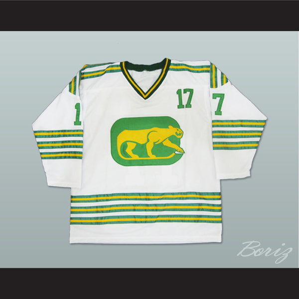 WHA Chicago Cougars Bob Sicinski Hockey Jersey All Sewn Any Size - borizcustom