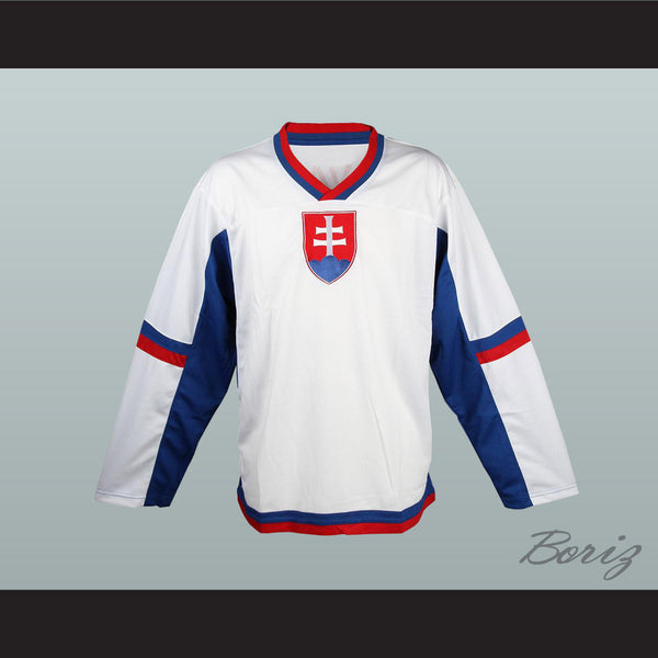Slovakia National Team Hockey Jersey Any Player or Number New - borizcustom