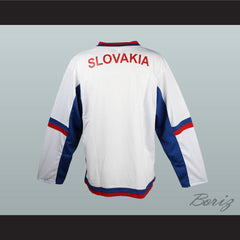 Slovakia National Team Hockey Jersey Any Player or Number New - borizcustom - 4