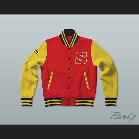 Clark Kent Smallville Crows High School Varsity Letterman Jacket-Style Sweatshirt - borizcustom - 1