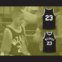 Tahj Mowry TJ Henderson 23 Wizards Basketball Jersey Smart Guy - borizcustom - 3
