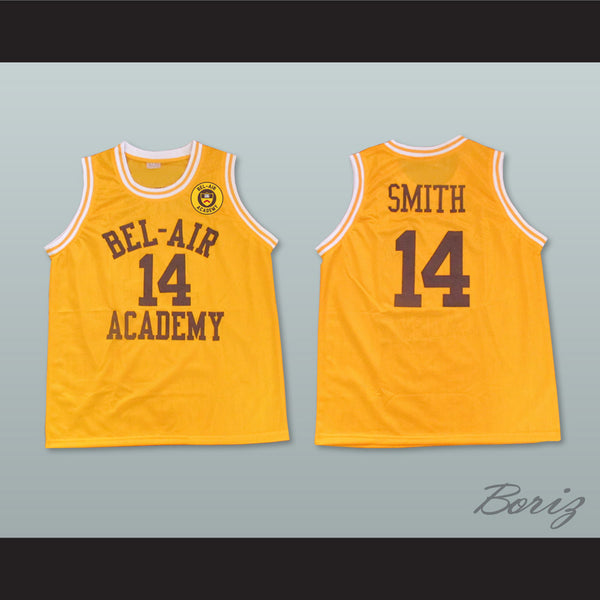 36cae7680425 ... The Fresh Prince of Bel-Air Will Smith Bel-Air Academy Home Basketball  Jersey ...