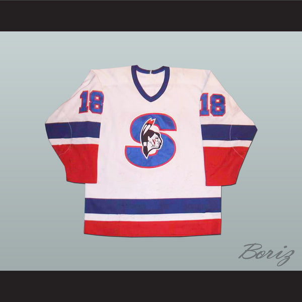 Springfield Indians Ari Haanpaa Hockey Jersey Any Player or Number - borizcustom