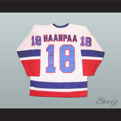 Springfield Indians Ari Haanpaa Hockey Jersey Any Player or Number - borizcustom - 2