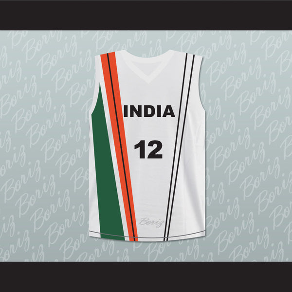 Satnam Singh Bhamara India Basketball Jersey Any Player or Number Stitch Sewn - borizcustom