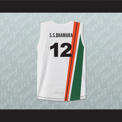 Satnam Singh Bhamara India Basketball Jersey Any Player or Number Stitch Sewn - borizcustom - 2