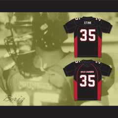 35 Stink Mean Machine Convicts Football Jersey - borizcustom