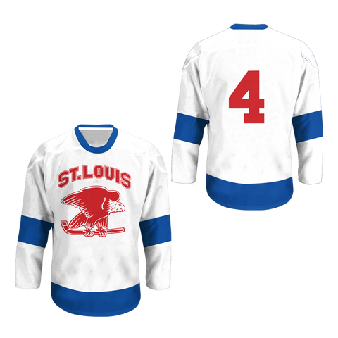 1934 St Louis Eagles Replica Hockey Jersey Any Player or Number New Colors