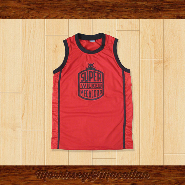 Super Wicked Megacorp 69 Destroyer Basketball Jersey by Morrissey&Macallan - borizcustom