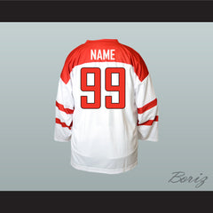 Switzerland National Team Hockey Jersey New - borizcustom - 2