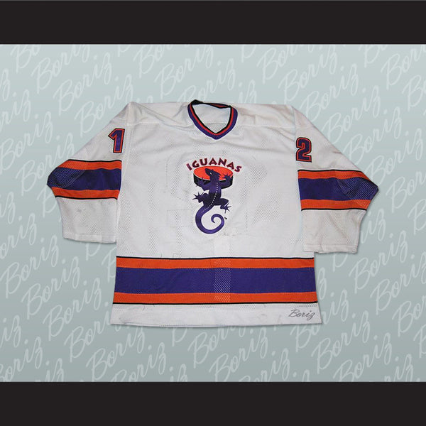 San Antonio Iguanas 12 Hockey Jersey Stitch Sewn NEW Any Size or Player - borizcustom - 1