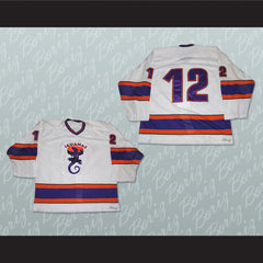 San Antonio Iguanas 12 Hockey Jersey Stitch Sewn NEW Any Size or Player - borizcustom - 3