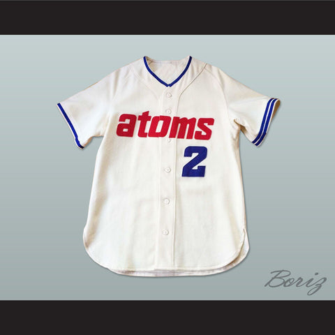 1966 Replica Sankei Atoms Button-Down Baseball Jersey New - borizcustom