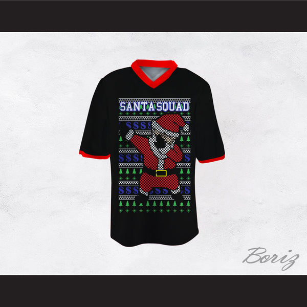 Santa Squad Football Jersey Design 2