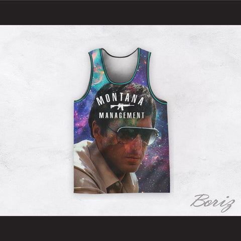 472875bf Montana Management Scarface 11 Basketball Jersey Design 3