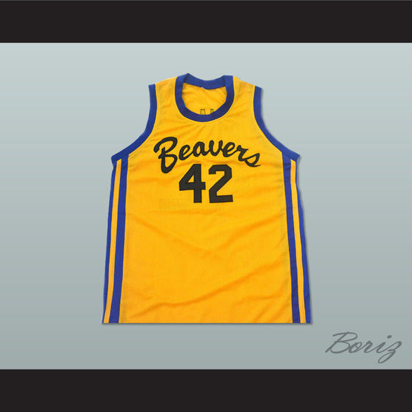 Teen Wolf Scott Howard 42 Beacon Beavers Basketball Jersey - borizcustom - 1