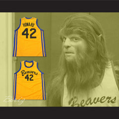 Teen Wolf Scott Howard 42 Beacon Beavers Basketball Jersey - borizcustom - 3