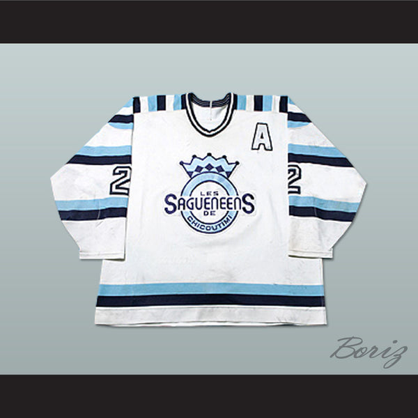 Sebastien Bety Chicoutimi Sagueneens Hockey Jersey Any Player or Number - borizcustom
