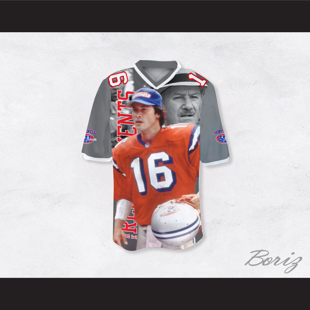 0f4e474d5c3 Product Image Shane Falco 16 Sentinels Coach Scene Football Jersey The  Replacements Shane Falco ...