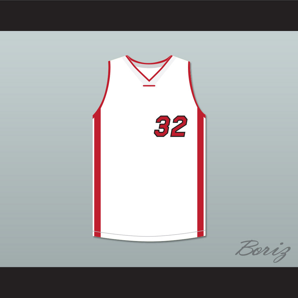 b81708037f4 Home — Shaquille O'Neal 32 White Basketball Jersey Scary Movie 4. Product  Image ...