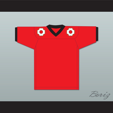 The Shogun of Harlem Shogun 85 Red Football Jersey