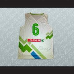 Slovenia Basketball Jersey Any Player or Number Stitch Sewn - borizcustom - 2