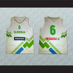 Slovenia Basketball Jersey Any Player or Number Stitch Sewn - borizcustom - 3
