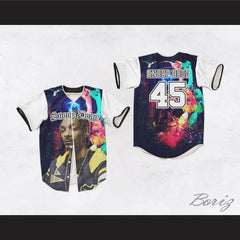 Snoop Dogg 45 Spaced Out Baseball Jersey