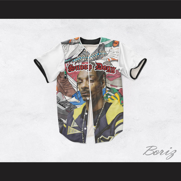 Snoop Dogg 45 Sneaker Heads Baseball Jersey