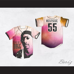 Snoop Dogg 55 Westside Evening Fade Baseball Jersey
