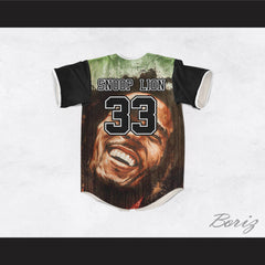Snoop Lion 33 Bob Marley Baseball Jersey