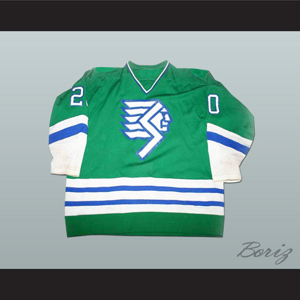 Springfield Indians Hockey Jersey Any Player or Number - borizcustom