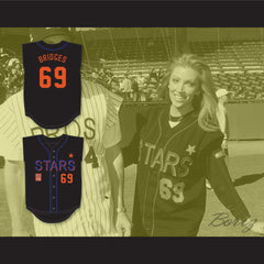 Angelica Bridges 69 Stars Softball Jersey 10th Annual Rock 'n Jock Softball Challenge 1999