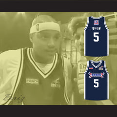Donald 'Shun' Faison 5 Stars Basketball Jersey Rock N' Jock All Star Jam 2002