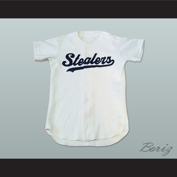 Stealers Button-Down Baseball Jersey Any Player or Any Number - borizcustom - 1